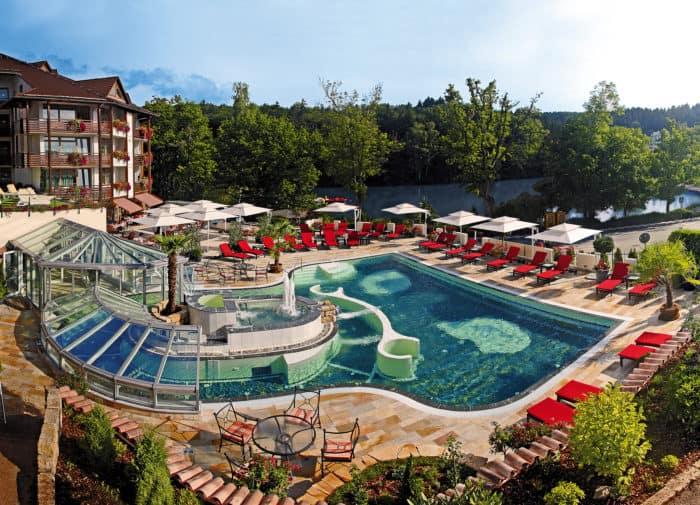Romantischer Winkel Spa & Wellness Resort mit Gast-Lehrlingen
