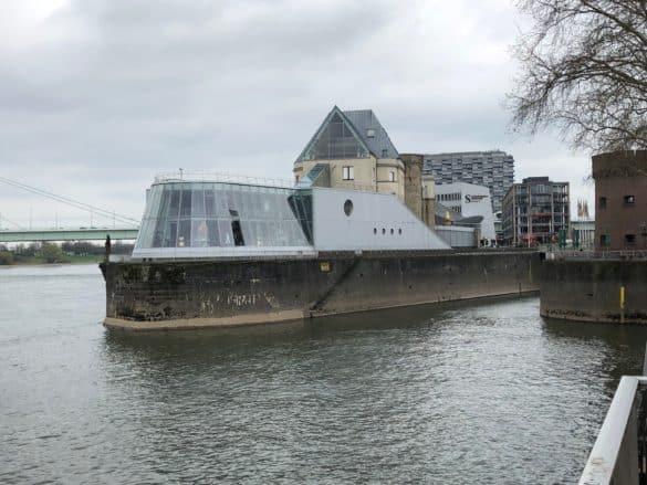 Außenansicht Schokoladenmuseum Köln