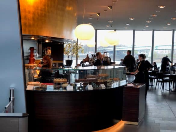 Café im Schokoladenmuseum Köln