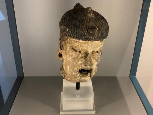 Maske im Schokoladenmuseum Köln
