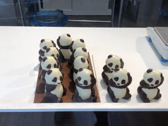 Aus der Produktion im Schokoladenmuseum Köln