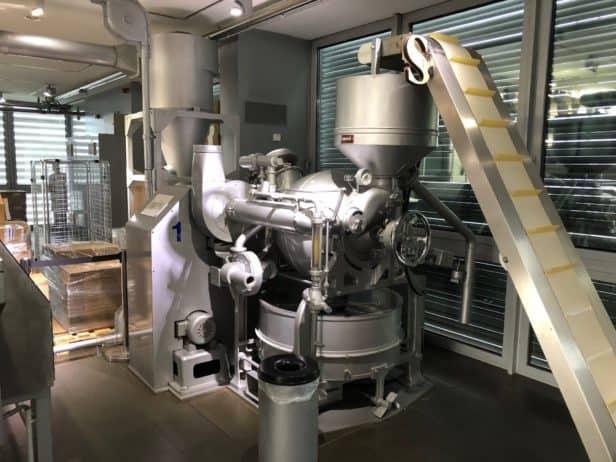 Schokoladenproduktion im Schokoladenmueseum Köln
