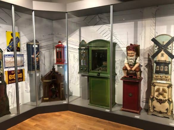 Schokoladenautomaten im Schokoladenmuseum Köln