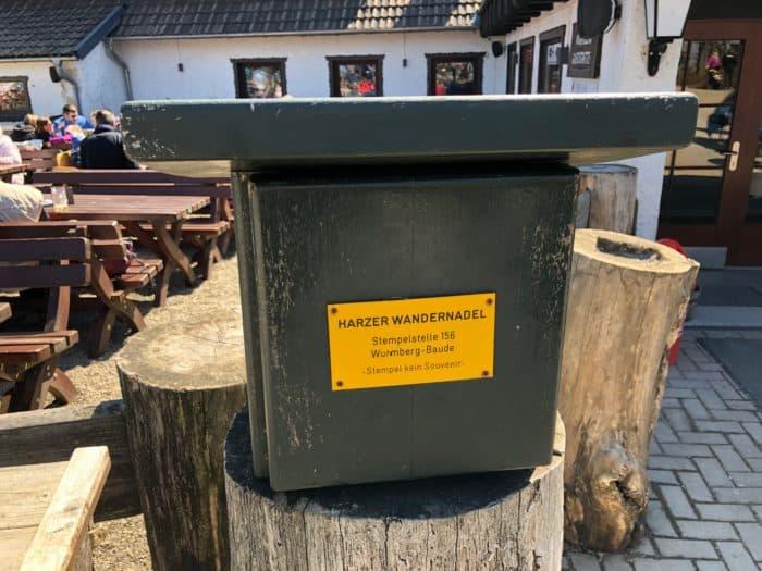 Wandernadel-Stempelstelle Wurmberg
