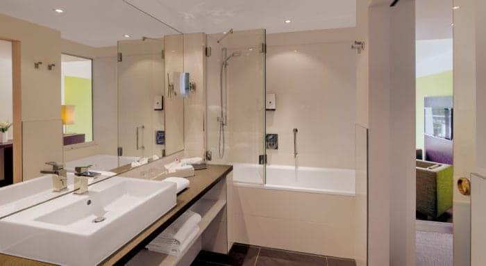 Badezimmer Hotel im Schulhaus Lorch