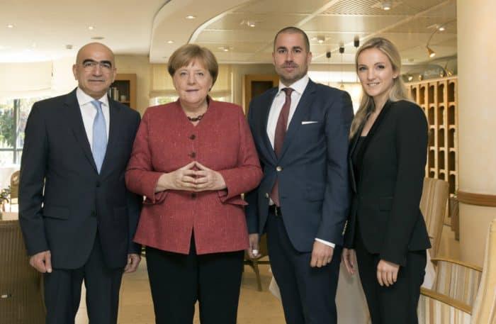 Bundeskanzlerin Angela Merkel besucht das Dorint Strandresort & Spa Ostseebad Wustrow