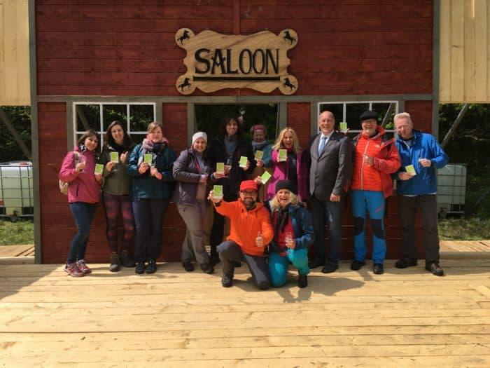 Hotel Im Schulhaus auf Pioniertour: Glücksgefühle im Wispertaunus