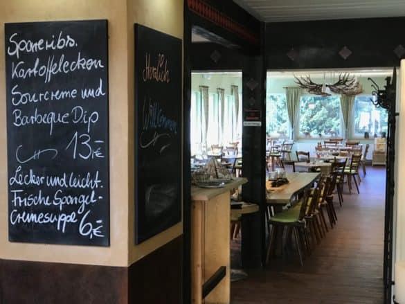 Gaststätte Restaurant Marienteichbaude