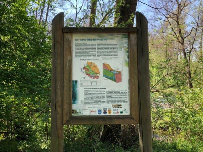 Der weite Weg des Wasser aus dem Harz bis nach Rhumspringe