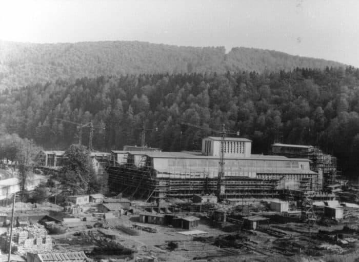 Baustelle Schickert-Werk Bad Lauterbaerg