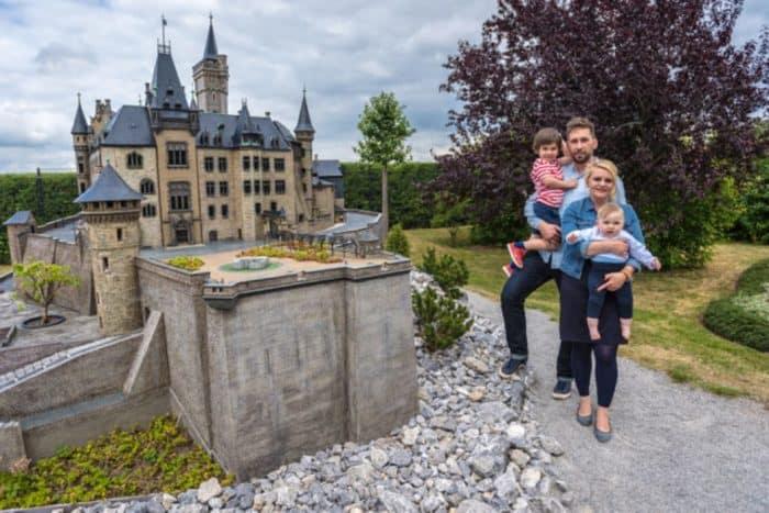 """Der Miniaturenpark """"Kleiner Harz"""" im Bürgerpark Wernigerode"""