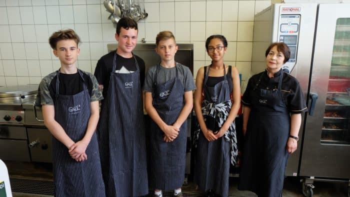 Mainzer Caterer unterstützt sozialen Verein von Beginn an