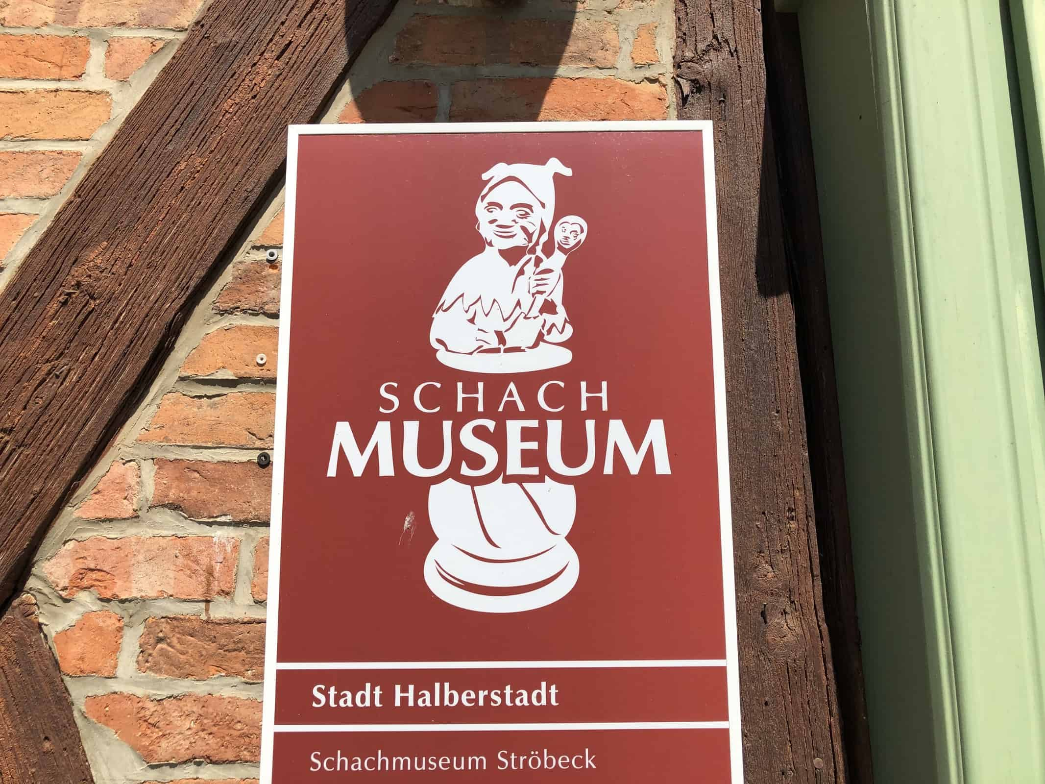 Logo mit Schleich Schachmuseum Ströbeck