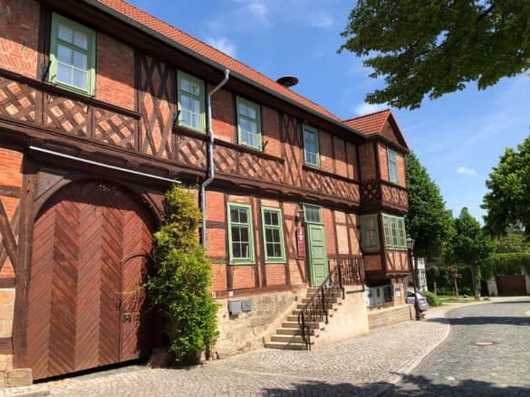 Außenansicht Schachmuseum Ströbeck