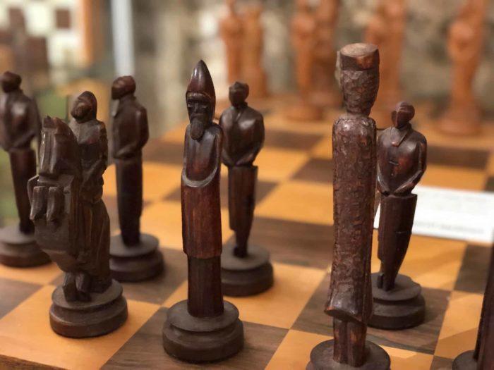 Schachspiel aus Sapnien, 15. Jahrhundert