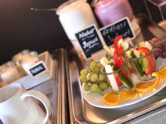 Frühstücksauwahl im Boutique-Hotel THH622