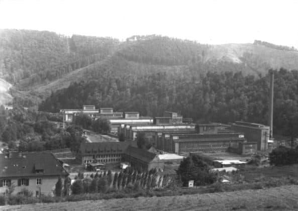 Schickert-Werk Bad Lauterberg in den 1970er Jahren