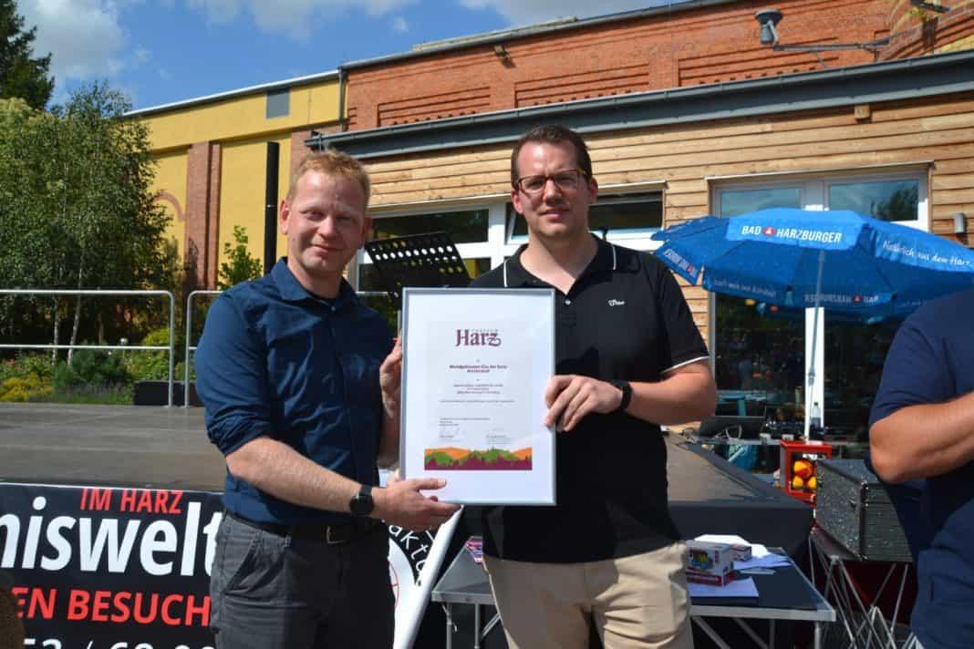 """Glasmanufaktur Harzkristall als """"Typisch Harz""""- Partner zertifiziert"""