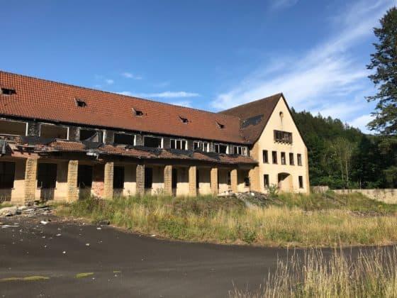 Teilansicht altes Schickert-Verwaltungsgebäude