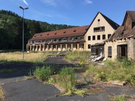 Reste des Verwaltungsgebäudes 2019