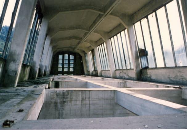 Dachkonstruktion Produktionshalle Schickert (1988)