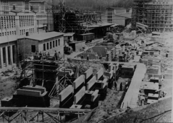 Großbaustelle Schickert-Werk