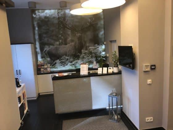 Hotelempfang des Luxus-Hotels Victoria Braunlage