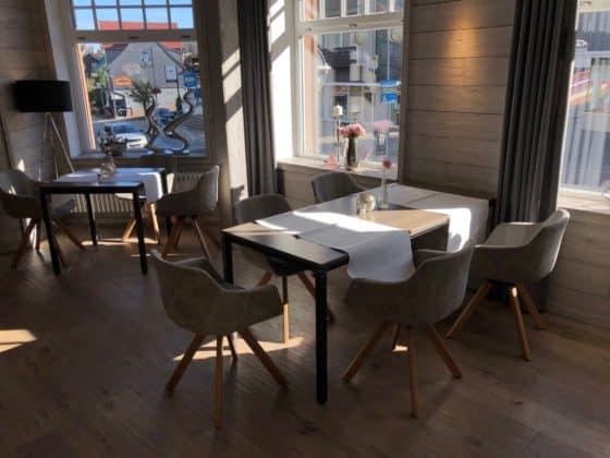 Teilansicht Frühstückraum Design Hotel Viktoria Braunlage