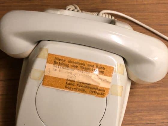 Im Notfall: Direkte Telefonverbindung Bund und Land