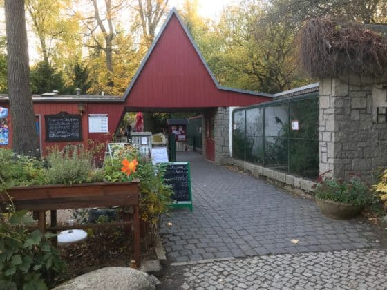 Eingang Tierpark Thale
