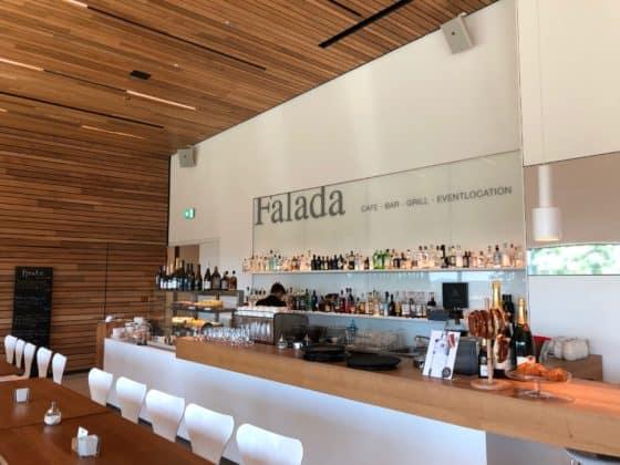 Thekenbereich Restaurant Falada Kassel