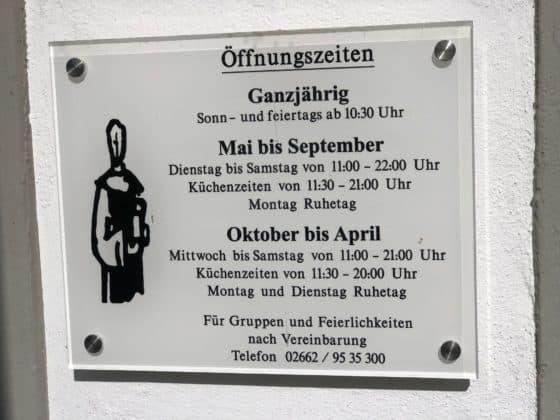 Öffnungszeiten Brauhaus