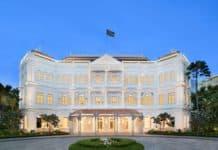 Das Raffles Singapore feiert seine Wiedereröffnung