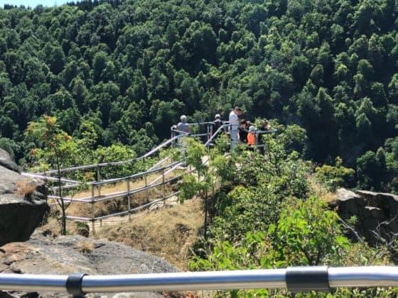 Plateau Rosstrappe mit Blick ins Bodetal