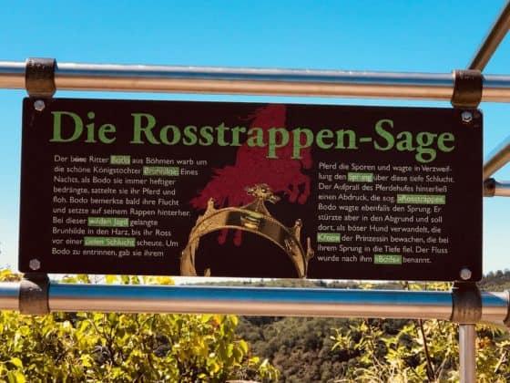 Rosstrappen-Sage
