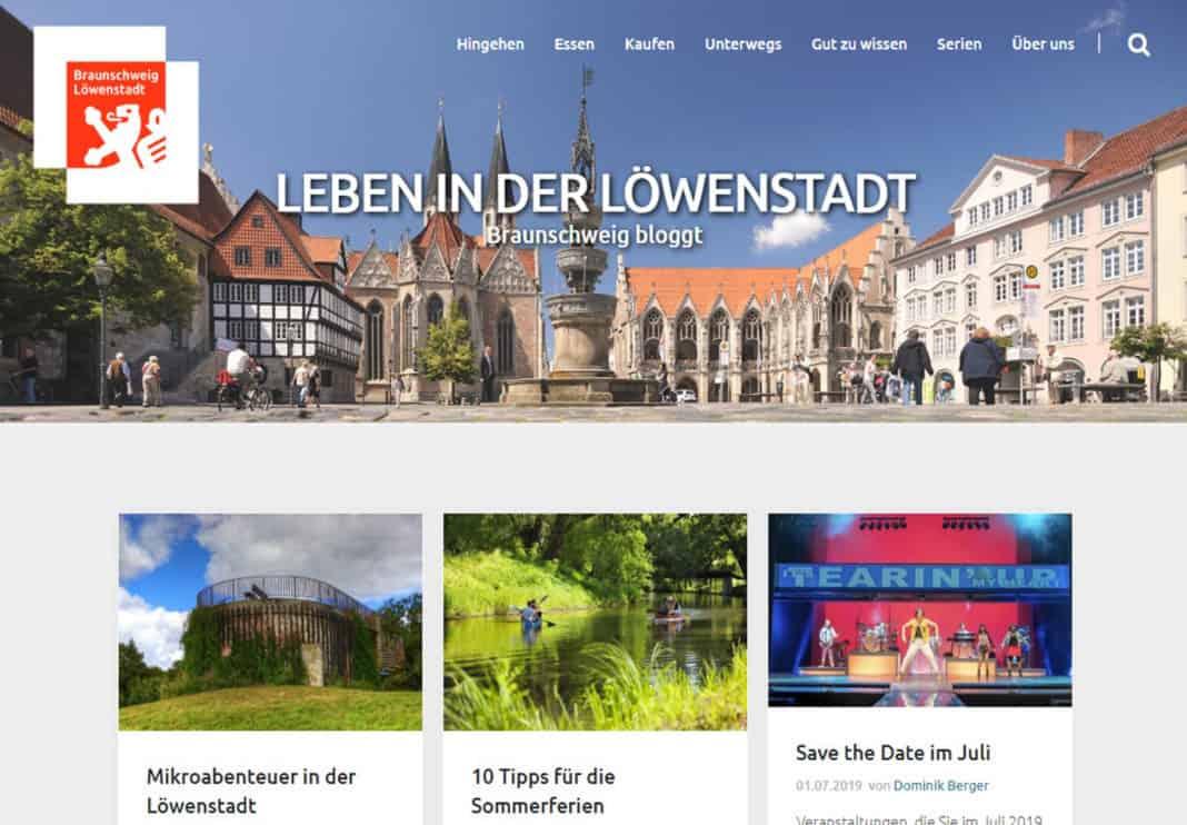 Stadtmarketing Braunschweig bloggt im neuen Design