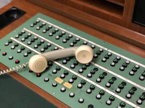 Telefonverteilung Atombunker Kall