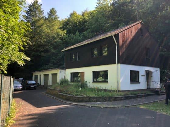 Wohnhaus auf dem Gelände der Dokumentationsstätte