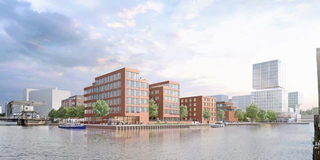 Hotel-Neubau: the niu Quay dockt zukünftig im Harburger Hafen an