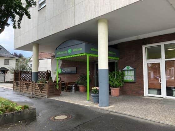 Eingang H+ Hotel Siegen (2019)