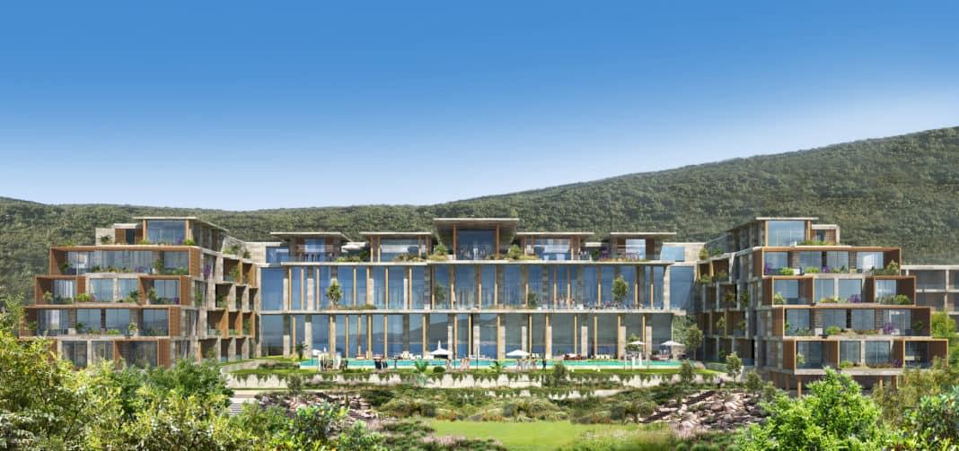 The Ritz-Carlton mit neuem Hotel auf der Halbinsel Luštica