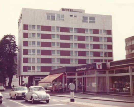 Hotel Kaisergarten in den 1970er Jahren