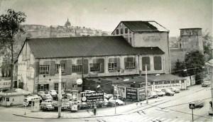 Reste des Kaisergarten-Hotels Anfang 1950
