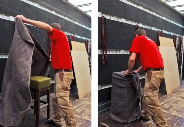 Umweltschonende Verpackung Stuhlfabrik Schnieder