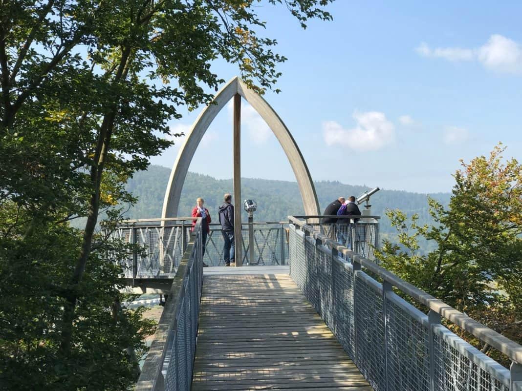 TreeTopWalk - der Baumkronenweg am Edersee in Hessen