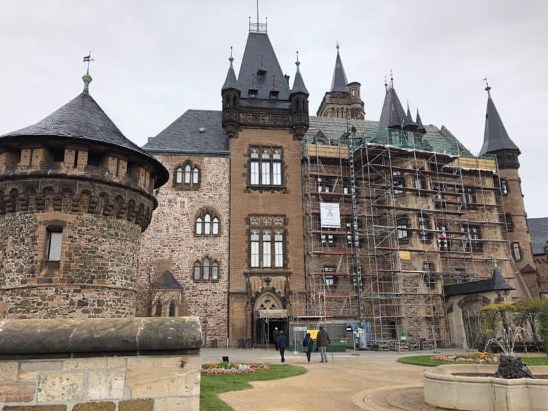 Ansicht Schloss Wernigerode