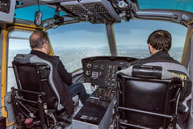 Bell Flugsimulator in Wernigerode