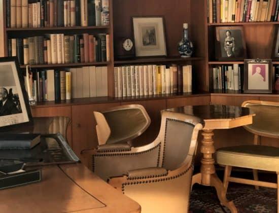 Arbeitszimmer Adenauers im Garten-Pavillon