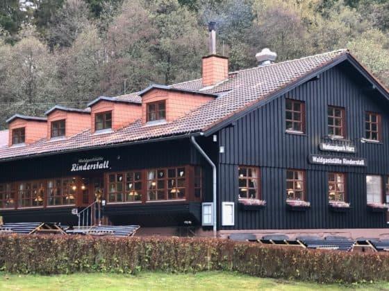 Außenansicht Waldgaststätte Rinderstall