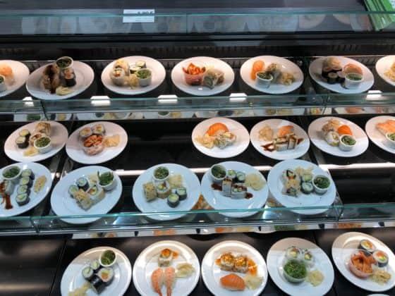 Lecker angerichtet: Sushi-Variationen zur Auswahl